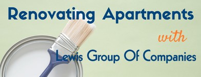 Renovating Apartments with the Lewis Group of Companies