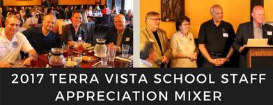 Awarding Educators: The 2017 Terra Vista School Staff Appreciation Mixer