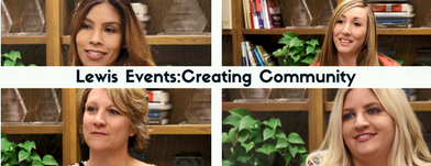 Lewis Events: Creating Community and Building Connections