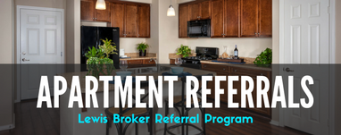 Lewis Broker: Earning Commission on Apartment Referrals
