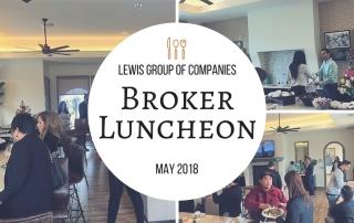 Lewis Broker Luncheon