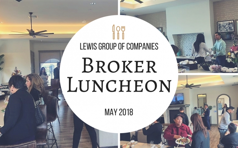 Highlights from the May 2018 Lewis VIP Broker Lunch
