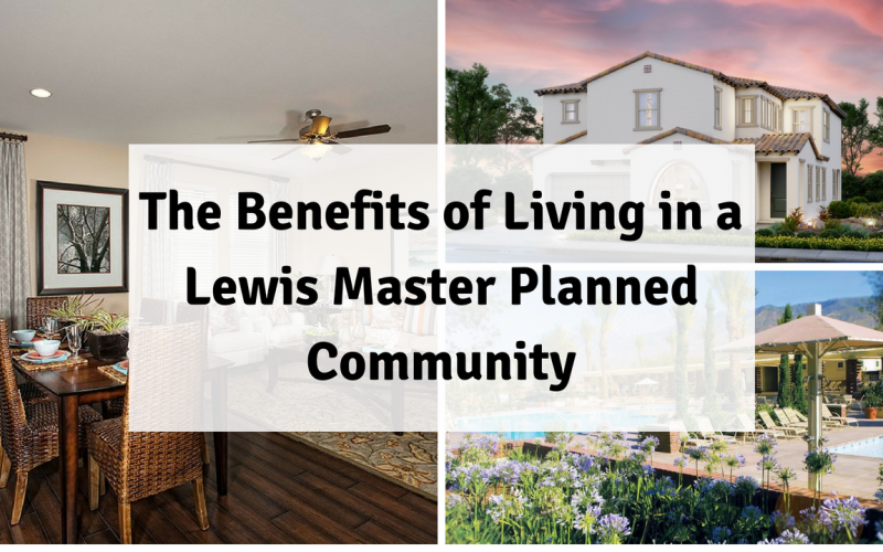 The Benefits of Living in a Lewis Master Planned Community